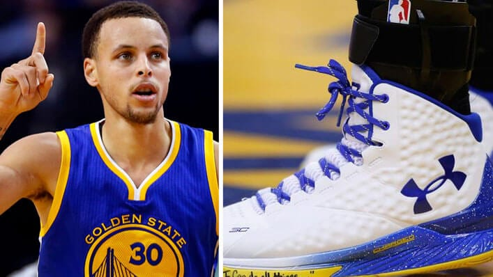 Stephen Curry Sports I Can Do All Things Verse On Under