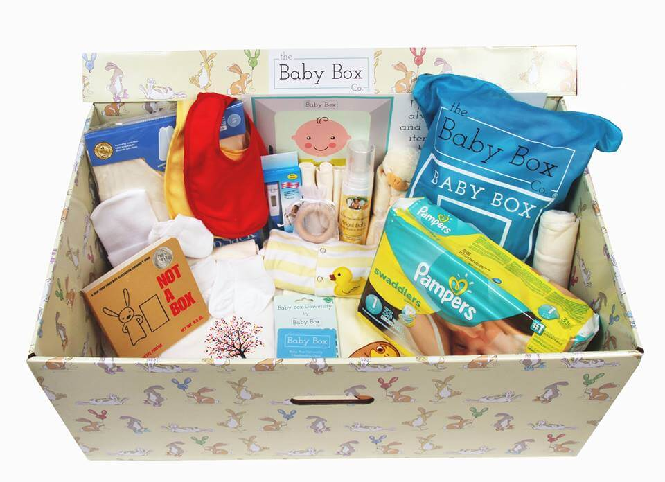 Free Baby Boxes Are Finally A Thing In The U S Amp They