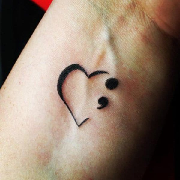 522cdd6057a14 If You See Somebody With a Semicolon Tattoo, Here's the Real Meaning ...