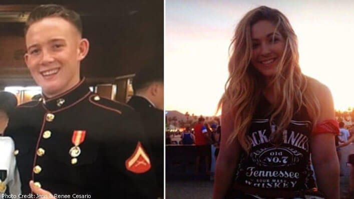 Man Tackles Girl in Vegas Attack to Shield Bullets—At 3am He Gets a Text From Her Sister